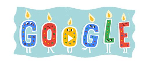 Googleお祝い