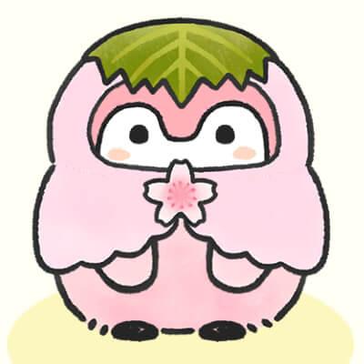 桜餅コウペンちゃん