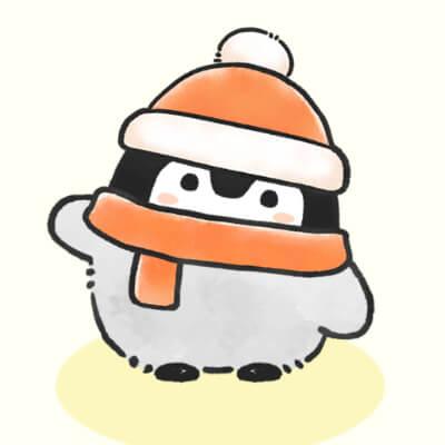 もこもこ帽子コウペンちゃん